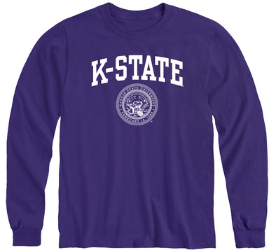 Kansas State University Heritage Long Sleeve T-Shirt (Purple)
