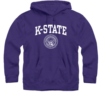 Kansas State University Heritage Hooded Sweatshirt (Purple)