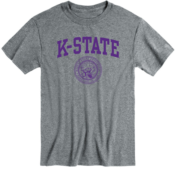 Kansas State University Heritage T-Shirt (Charcoal Grey)