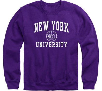 New York University Heritage Sweatshirt (Violet)