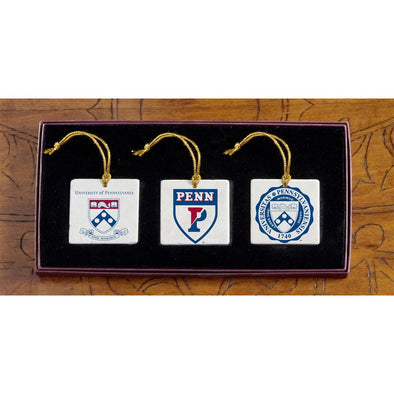 Penn - Christmas 3 Ornament Set