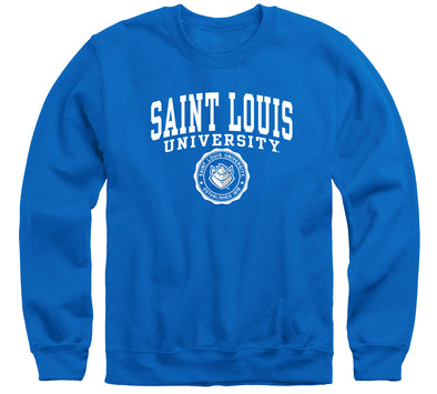 Saint Louis University Heritage Sweatshirt (Royal Blue)