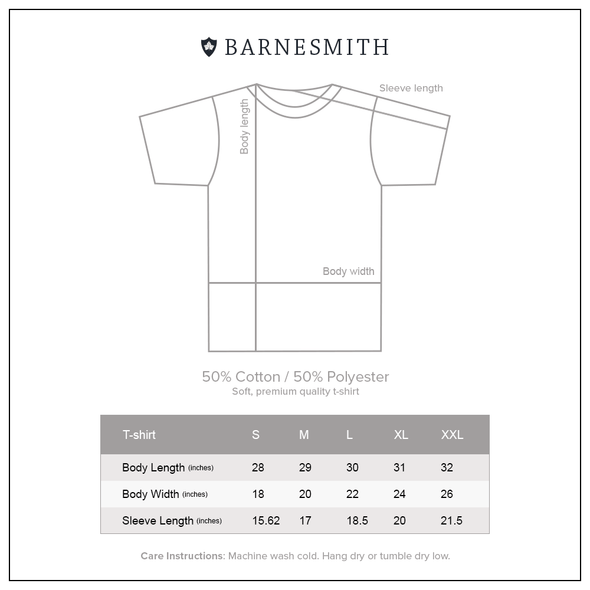 Penn Wharton T-Shirt (Charcoal Grey)