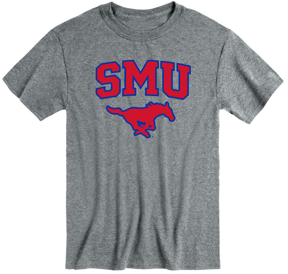 Southern Methodist University Heritage T-Shirt (Charcoal Grey)
