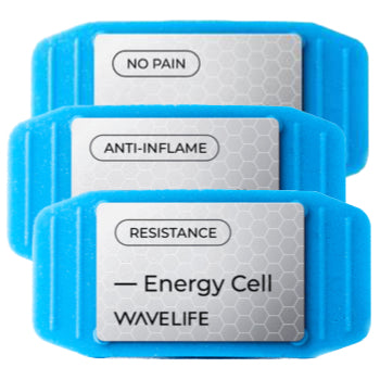 3 CELL BUNDLE: 1 No-Pain, 1 Anti-Inflame and 1 Resistance plus 3 packs of adhesive patches