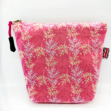Load image into Gallery viewer, Flowers Pink Leaves Bag