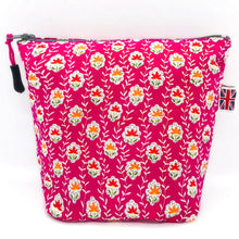 Load image into Gallery viewer, Flowers Pink Spring Flowers Bag