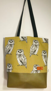 Owl Tawny Brown Bag