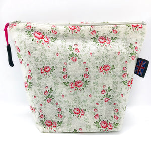 Floral Old English Rose Bag