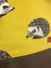 Load image into Gallery viewer, Hedgehog Yellow Tote Bag