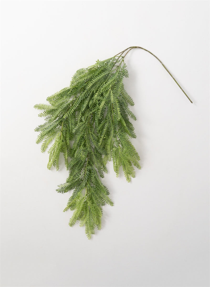 Green Fern Silk Spray