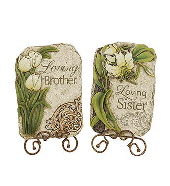 Loving Brother/Sister Plaque