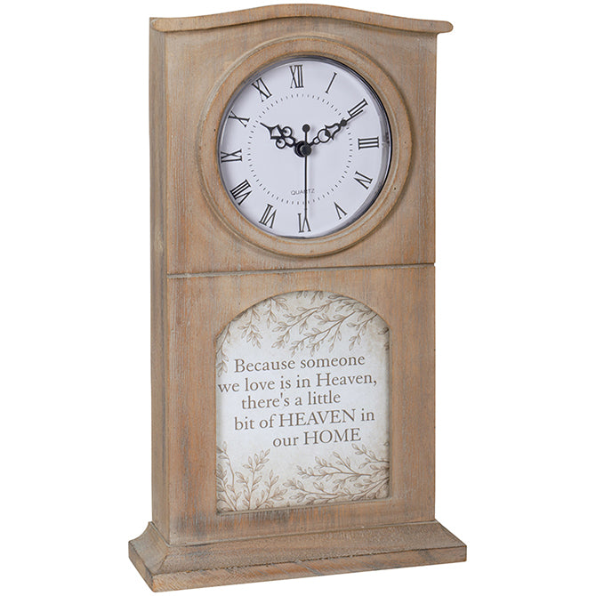 Heaven in Our Home Memorial Clock
