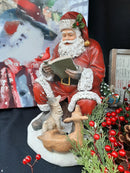 Santa With Forest Animals