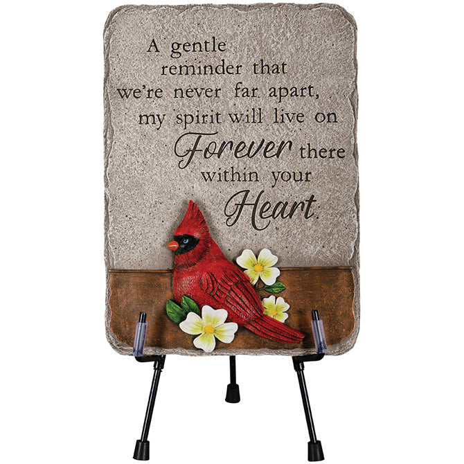 Your Heart Cardinal Memorial Marker