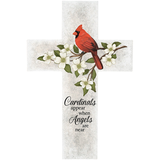 """Cardinals Appear"" Wall Cross"