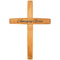 "29"" Wooden Wall Cross Amazing Grace"