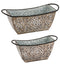 Bronze Embossed Planter