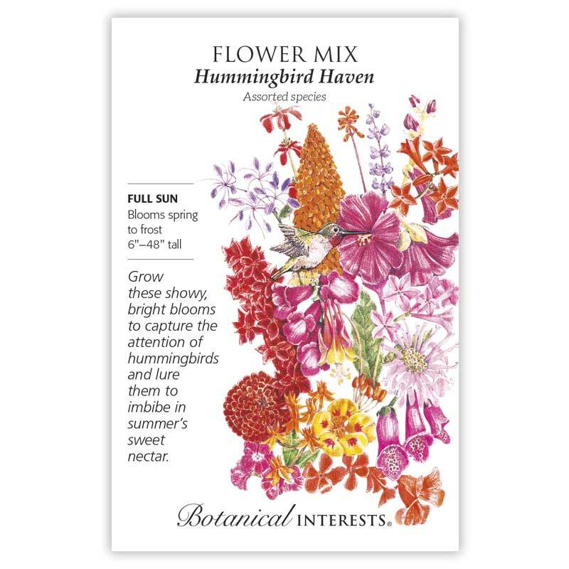 Flower Mix 'Hummingbird Haven' Seeds