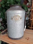 Flowers and Garden Metal Milk Bucket