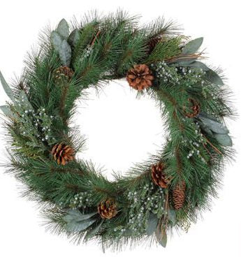 Pine and Juniper Wreath