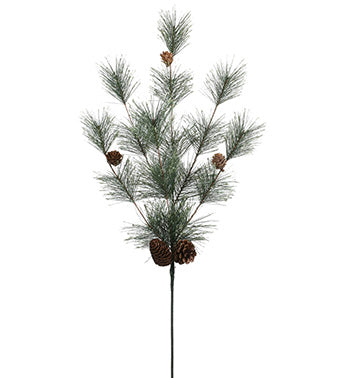 Needle Pine and Cone Spray