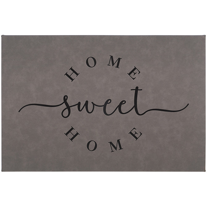 """Home Sweet Home"" Wall Canvas"