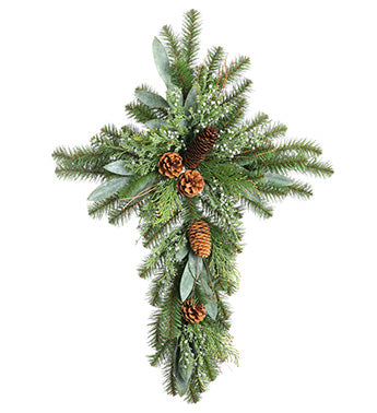 Juniper Berry Eucalyptus Pine Cross