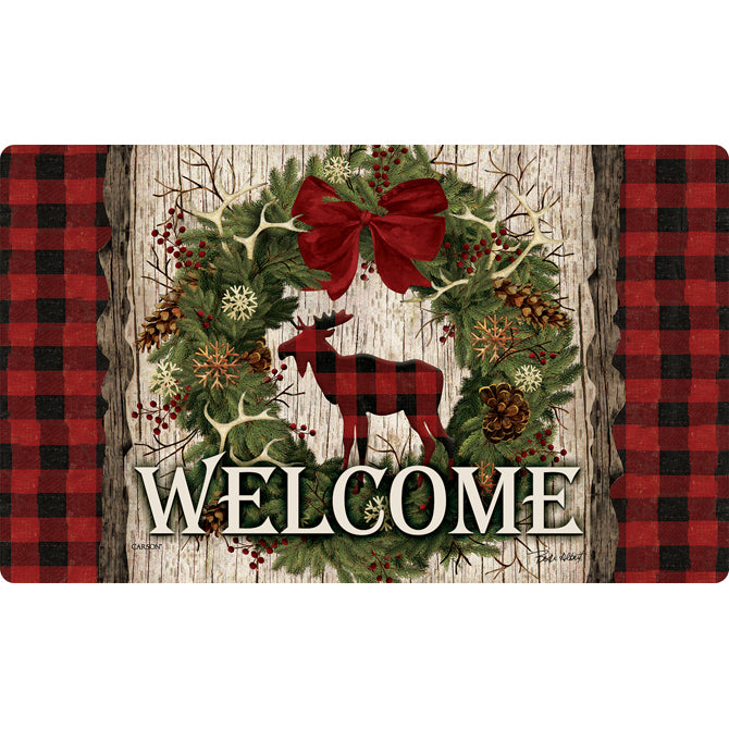"""Woodland Christmas"" Mat"