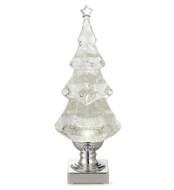 Clear LED Light Tree