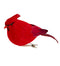 Small Cardinal Ornament with Clip