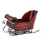 Antique Red Sleigh Planter