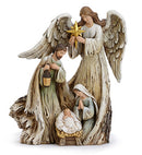 Angel with Holy Family Nativity