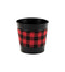 "5"" Buffalo Plaid Pot Cover"