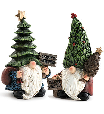 Christmas Tree Hat Gnomes Assorted