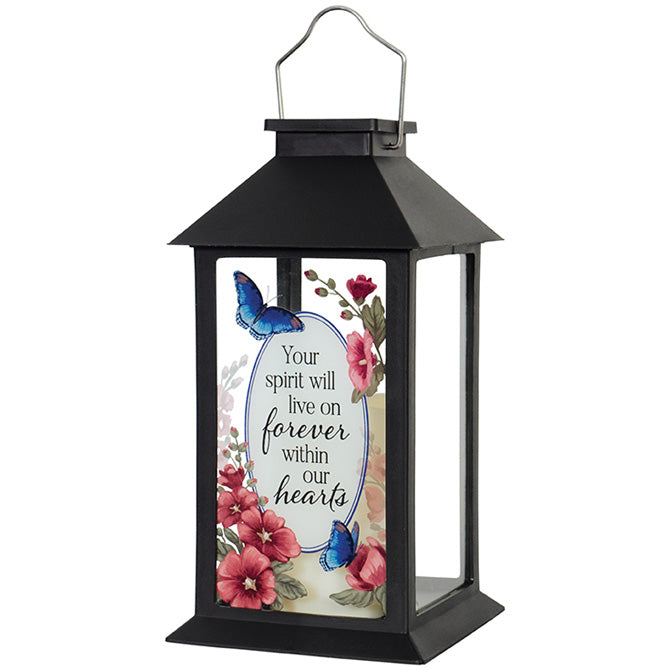 """Our Hearts"" Solar Lantern"