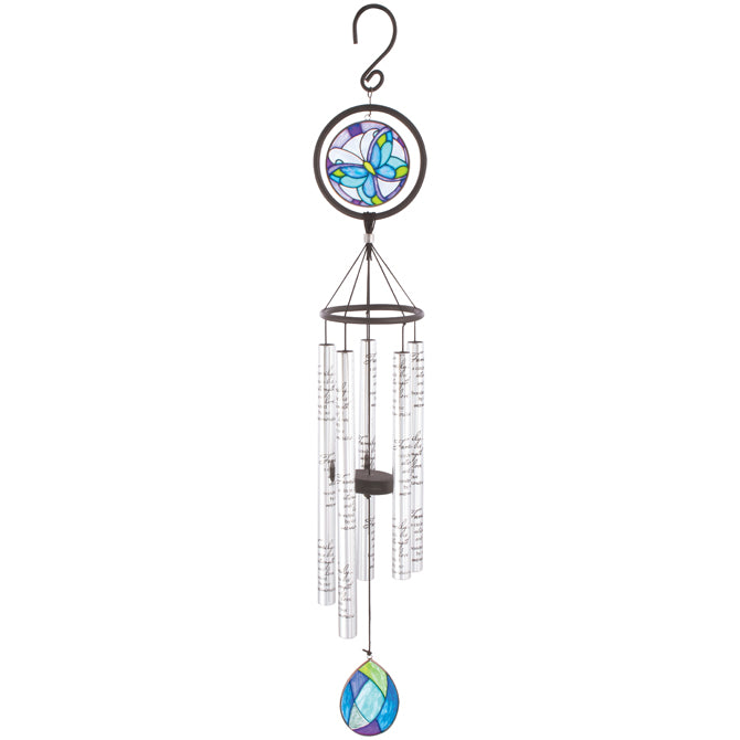 "35"" Family Stained Glass Windchime"