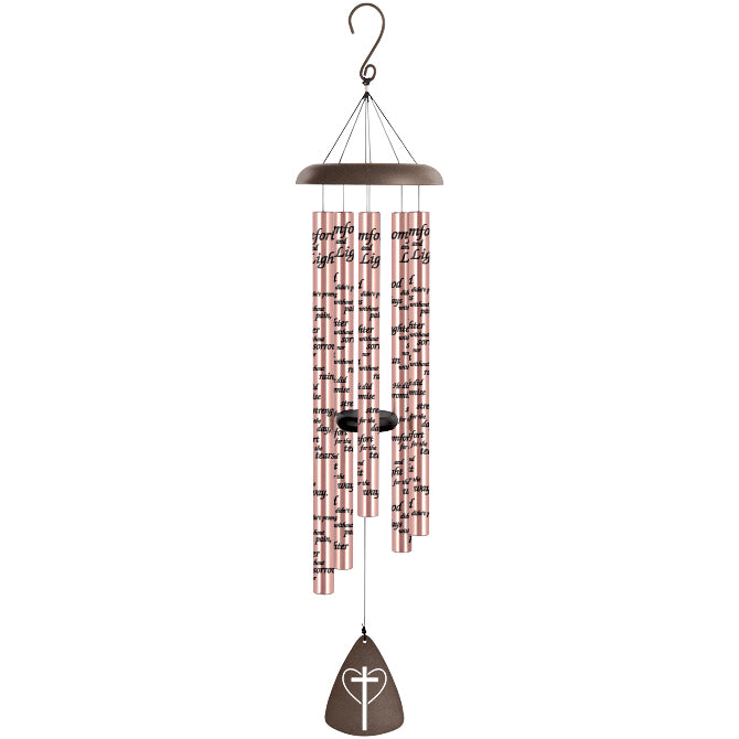 "44"" Comfort & Light Windchime Rose Gold"