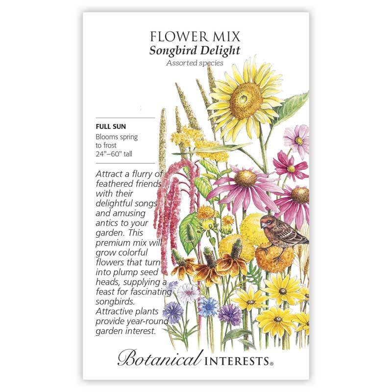 Flower Mix 'Songbird Delight' Seeds