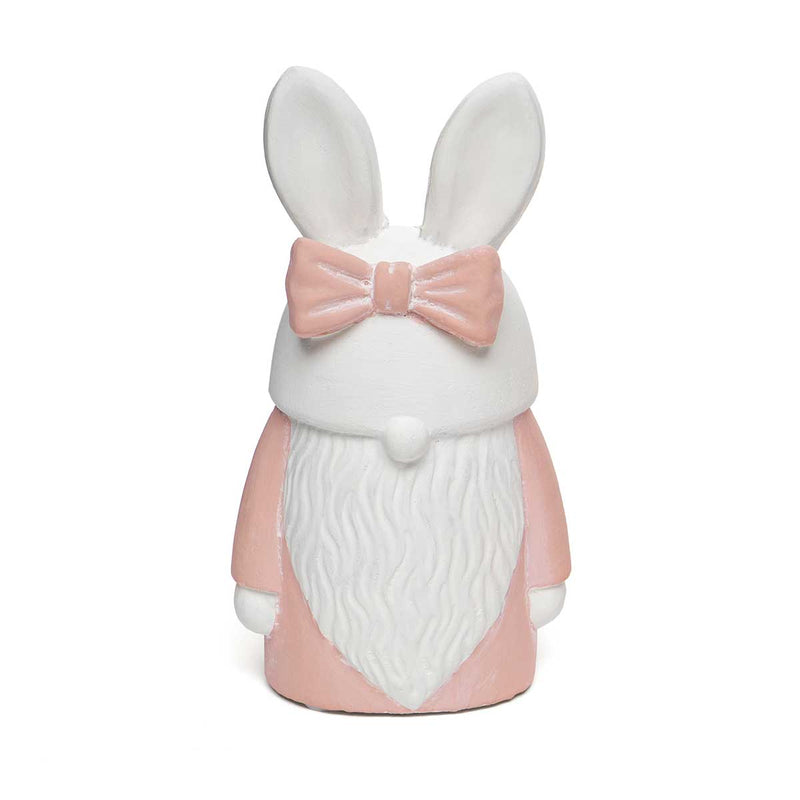 Bunny Gnome with Pink Bow