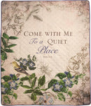Come With Me To A Quiet Place Quilt