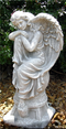 "16"" Angel on Globe"