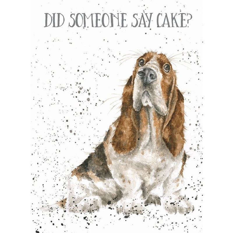 'Cake?' Birthday Card