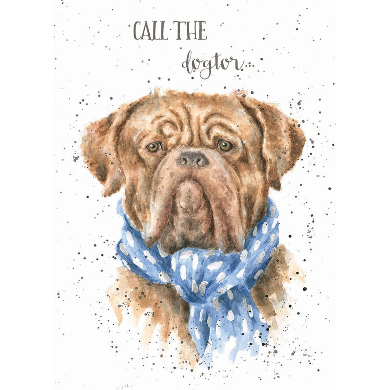 'Call the Dogtor' Get Well card