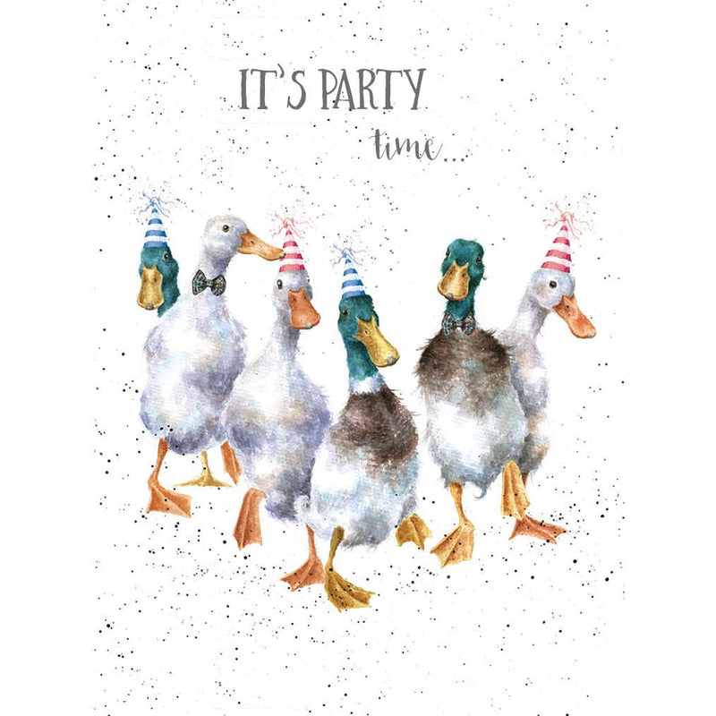 'Party Time' Birthday Card