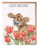 'Birthday Bessie' card
