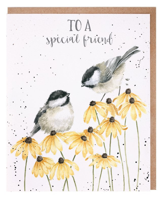 'Let Friendship Bloom' Card
