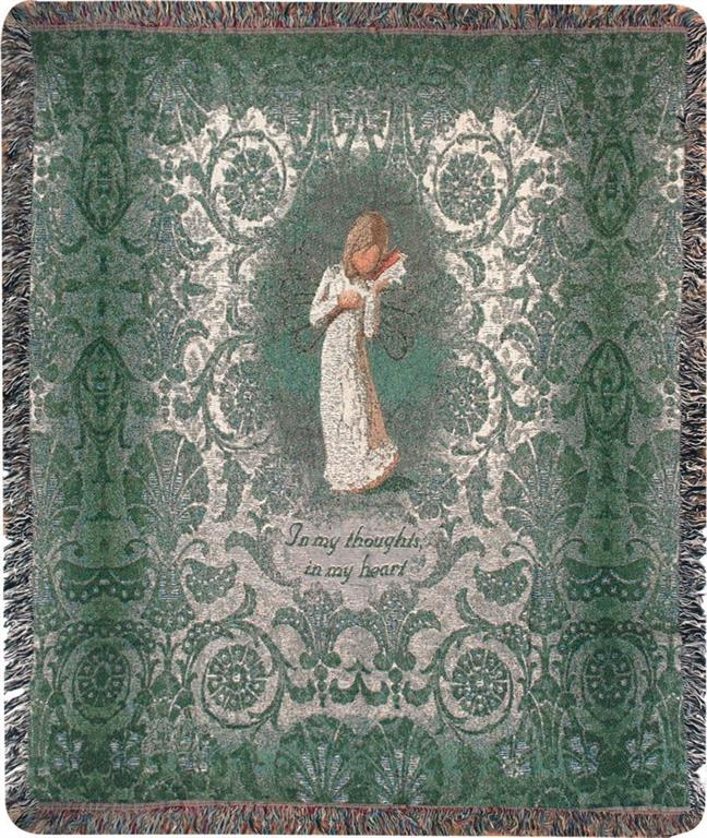 Willow Tree Angel Throw