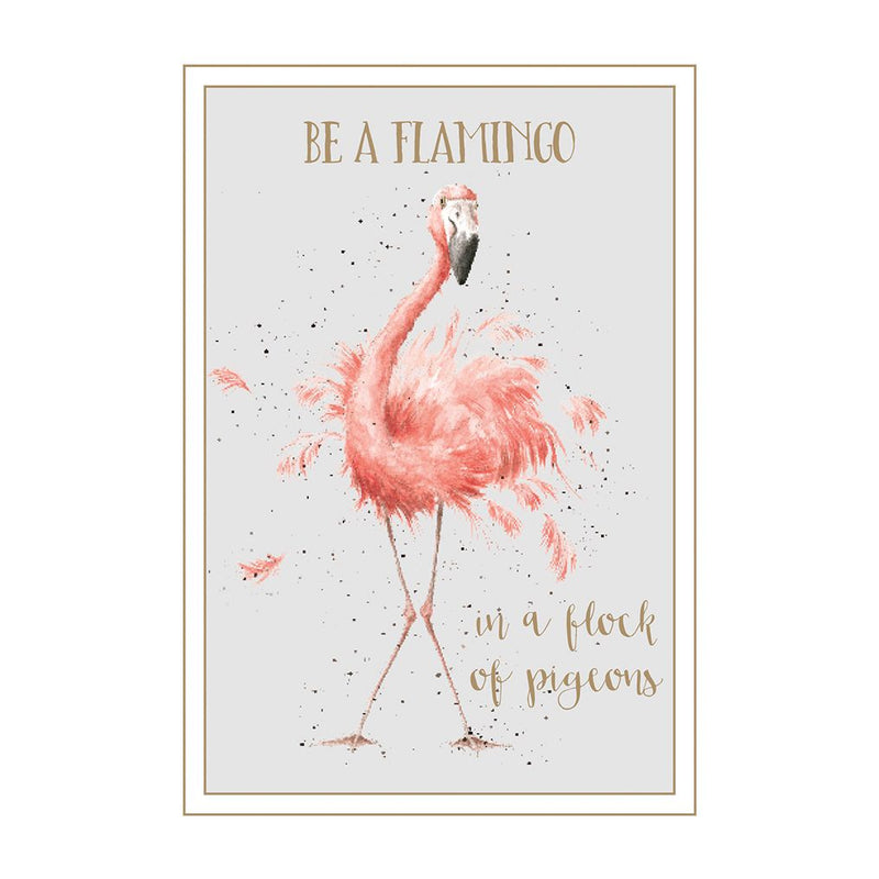 'Be a Flamingo' card