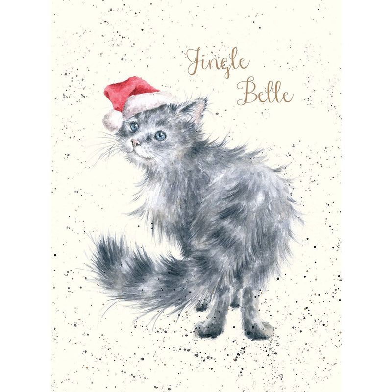 'Jingle Belle' card